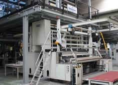 Turnkey project for used Reifenhauser blown film line