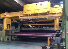 Sale and dismantle of used Brückner 3 layer BOPP line