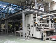Turnkey supply of used  Reifenhauser 3 layers blown film line