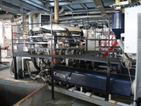 Used Reifenhauser coextrusion blown film