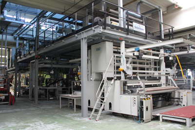Used Reifenhauser 3 layers blown film coextrusion line