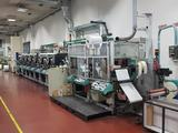 OMET LB420 // Flexo label press // Printing machines