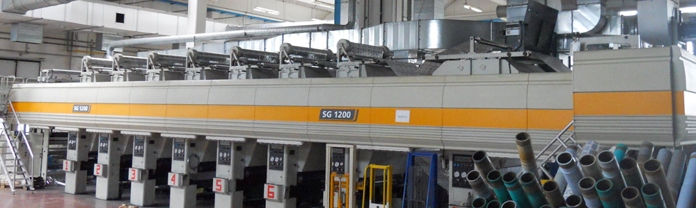 Used Schiavi rotogravure press