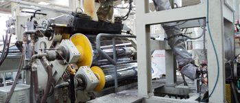 Polishing and Calenders // Film extrusion lines