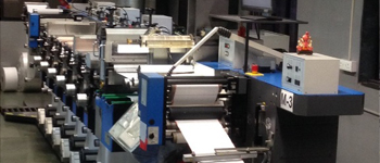 Flexo label press // Printing machines