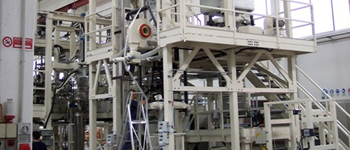 Double and Triple Bubble line // Film extrusion lines